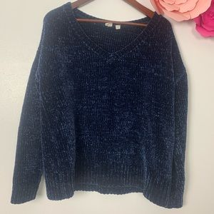 Gap vintage style sweater size S blue